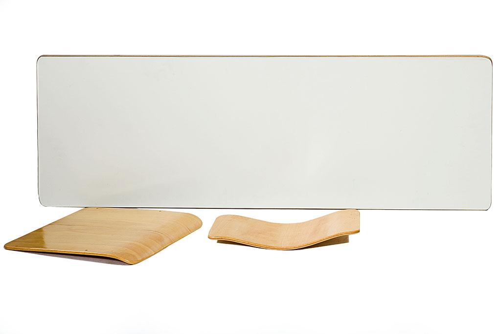 Ανταλλακτικό πινακίδα θρανίου και έδρα - πλάτη καθίσματος