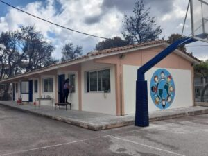 Το Νηπιαγωγείο & το Δημοτικό Σχολείο Βαρυμπόμπης, μετά την αποκατάστασή τους
