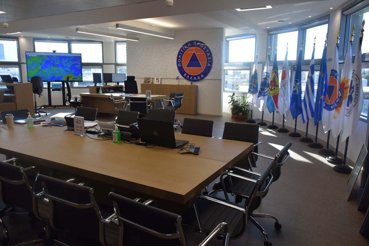 Γραφεία Γενικής Γραμματείας Πολιτικής Προστασίας